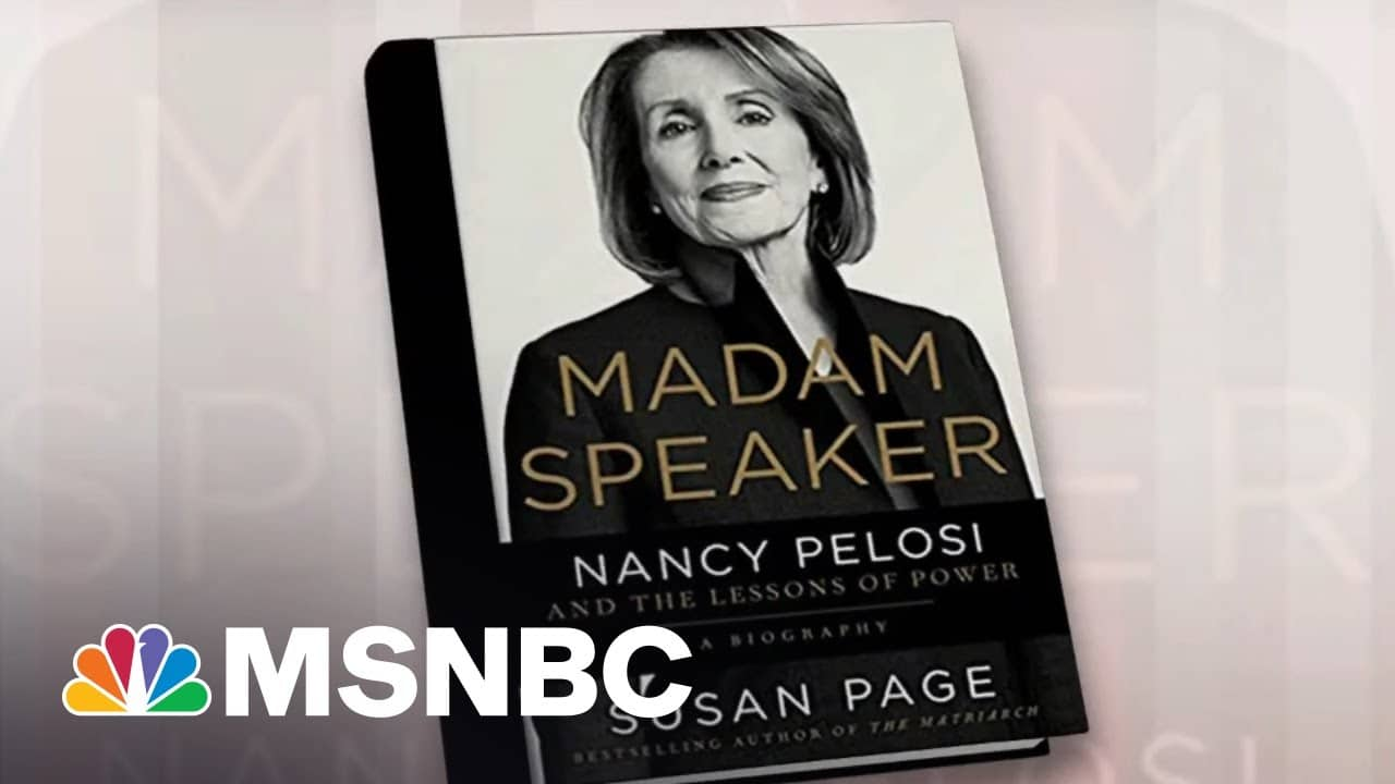 Nancy Pelosi Intended To Retire After 2016, Says Writer Susan Page | Morning Joe | MSNBC 1