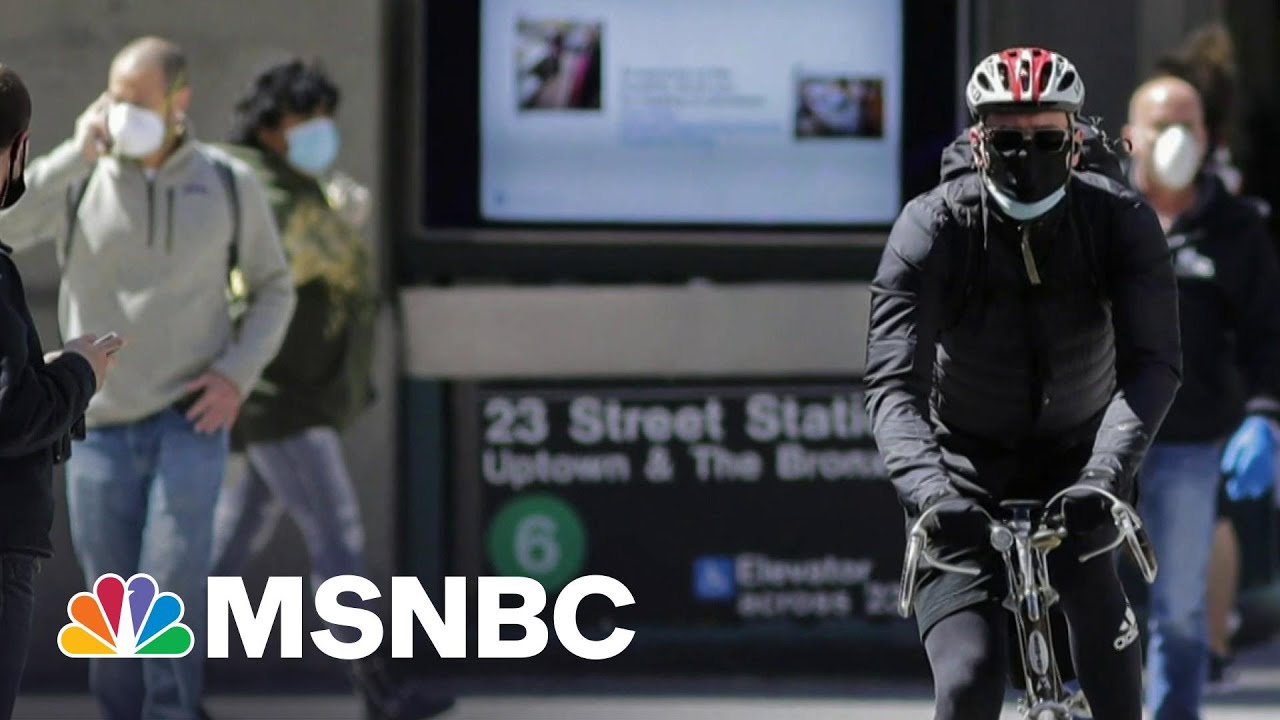 CDC Director Says Agency Looking At If Masks Still Needed Outdoors | Morning Joe | MSNBC 1