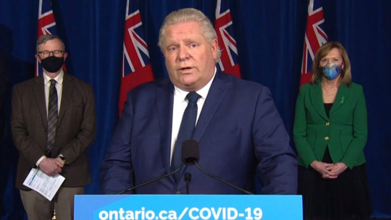 Ontario to enter four-week, provincewide shutdown: Watch Ford's full update 1