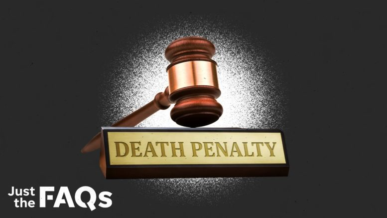 Death penalty: Which states use it, which don't and how it's changed over time | Just the FAQs 1