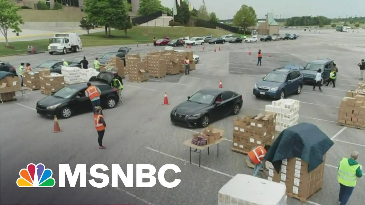 Food Insecurity Continues One Year Into Pandemic | MTP Daily | MSNBC 1