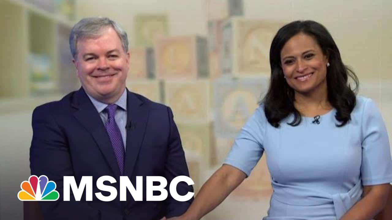 Kristen Welker And Husband John Share Their Journey To Become Expectant Parents | Andrea Mitchell 1