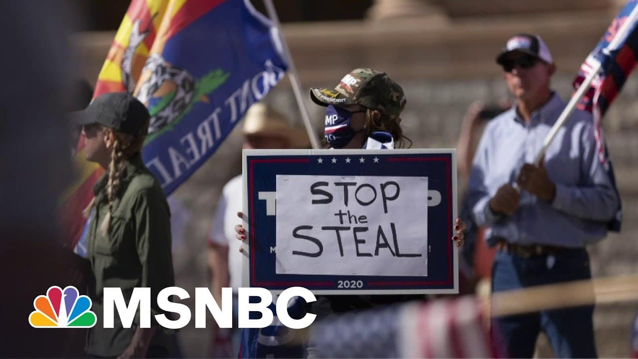 Arizona Republicans Conduct Election 'Audit' Fueled By Trump's Big Lie | All In | MSNBC 1