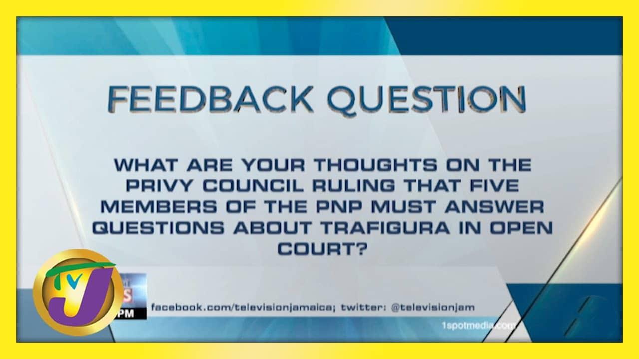 Feedback Question | TVJ News - April 22 2021 1