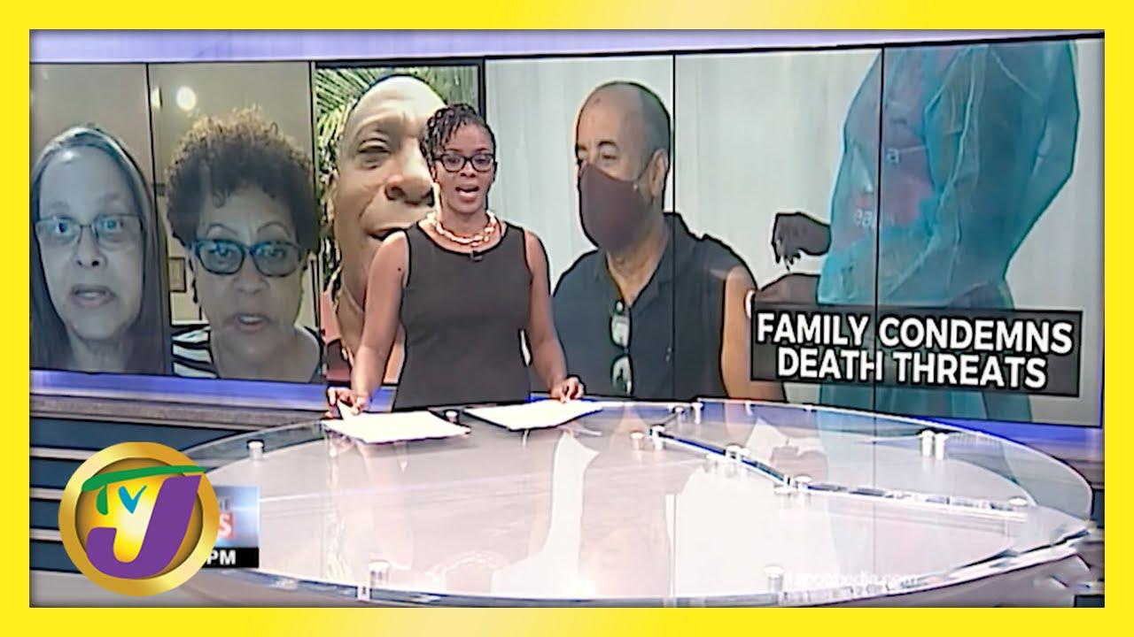 Jamaican Journalist Michael Sharpe's Family & Friends Condemn Death Threats - April 22 2021 1