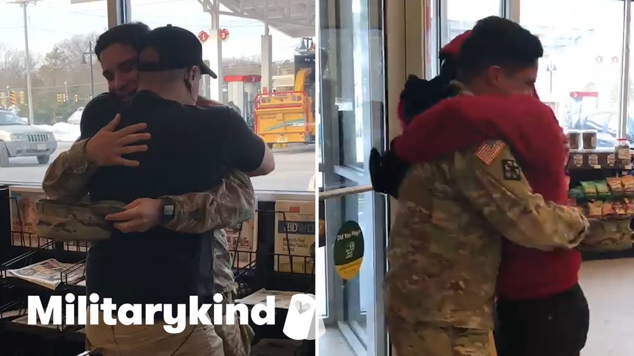Soldier's surprise will have you seeing triple | Militarykind 8