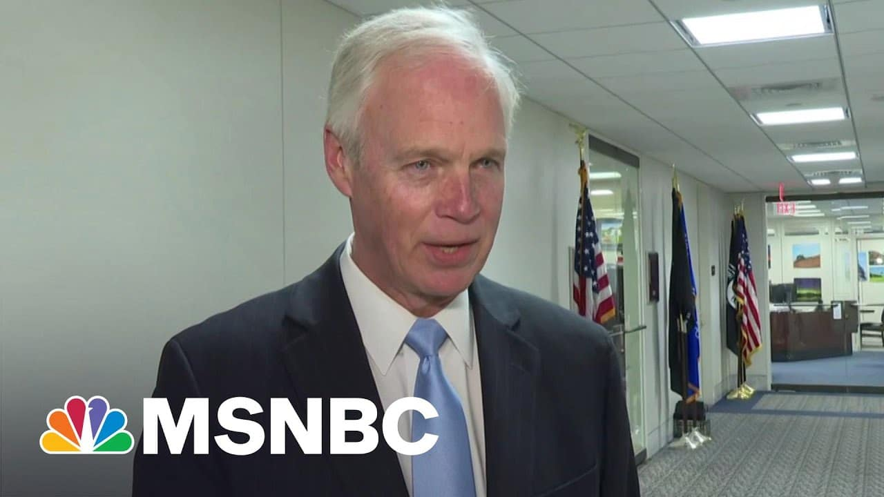 ER Doc: Everything Ron Johnson Says About Vaccines Is Wrong | The 11th Hour | MSNBC 1