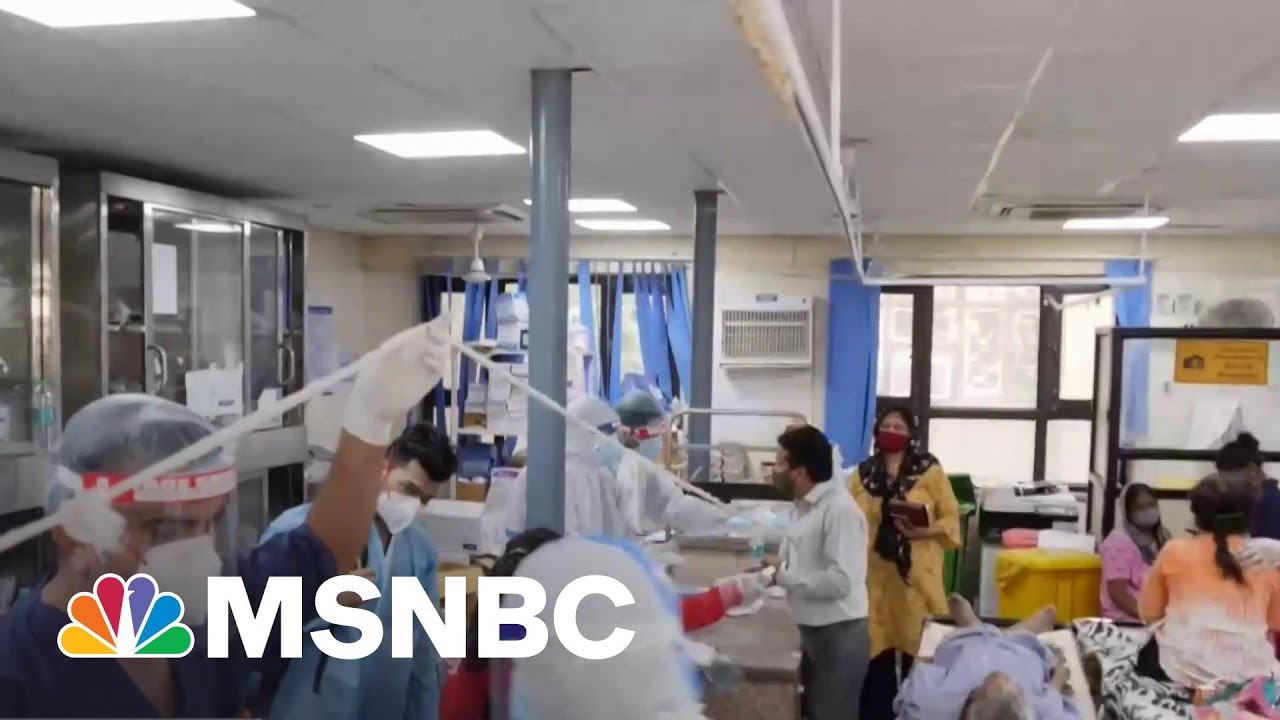 'Out Of Control': India Experiencing Massive Covid Surge | The ReidOut | MSNBC 1