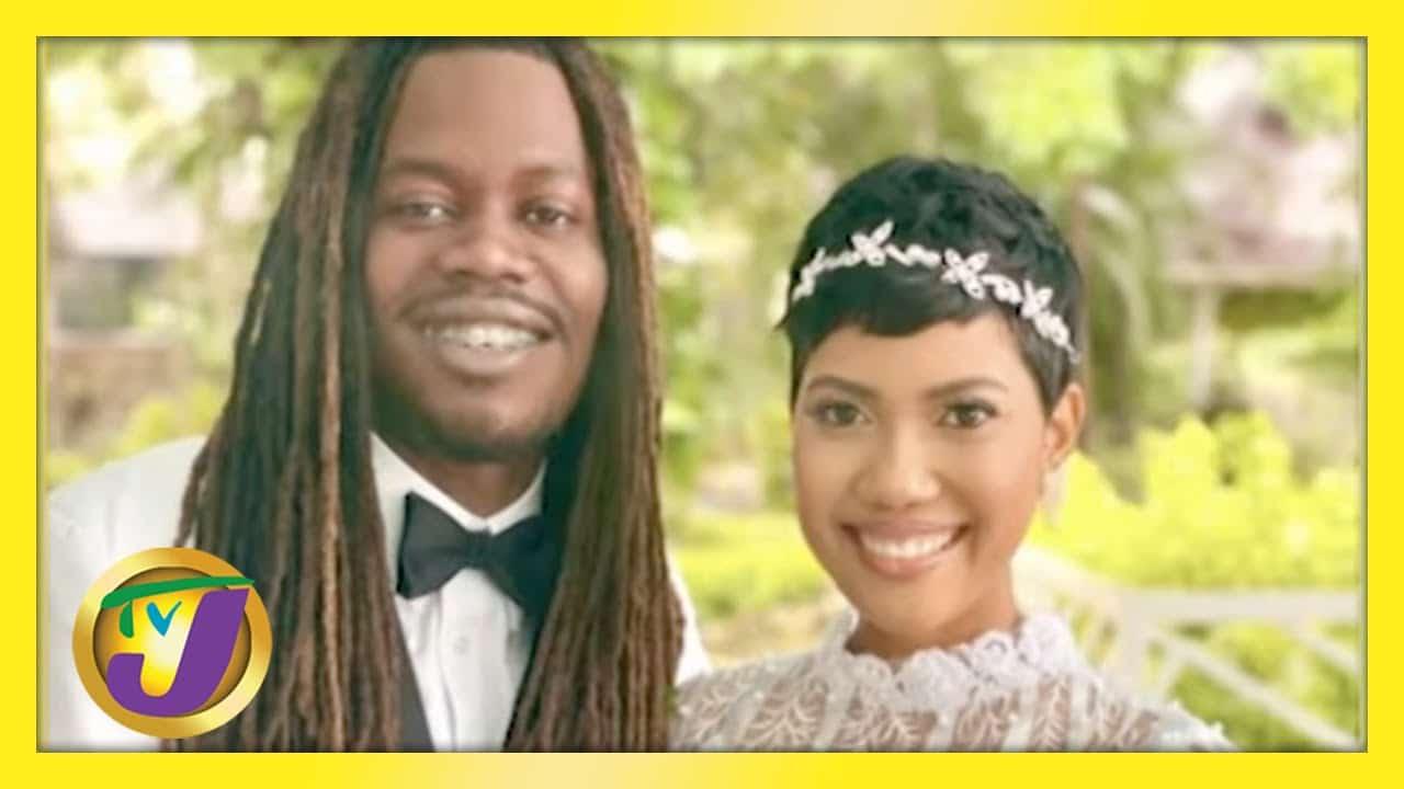 High School Sweethearts Wedding | Shanel & Jermaine Decon - TVJ Smile Jamaica 1