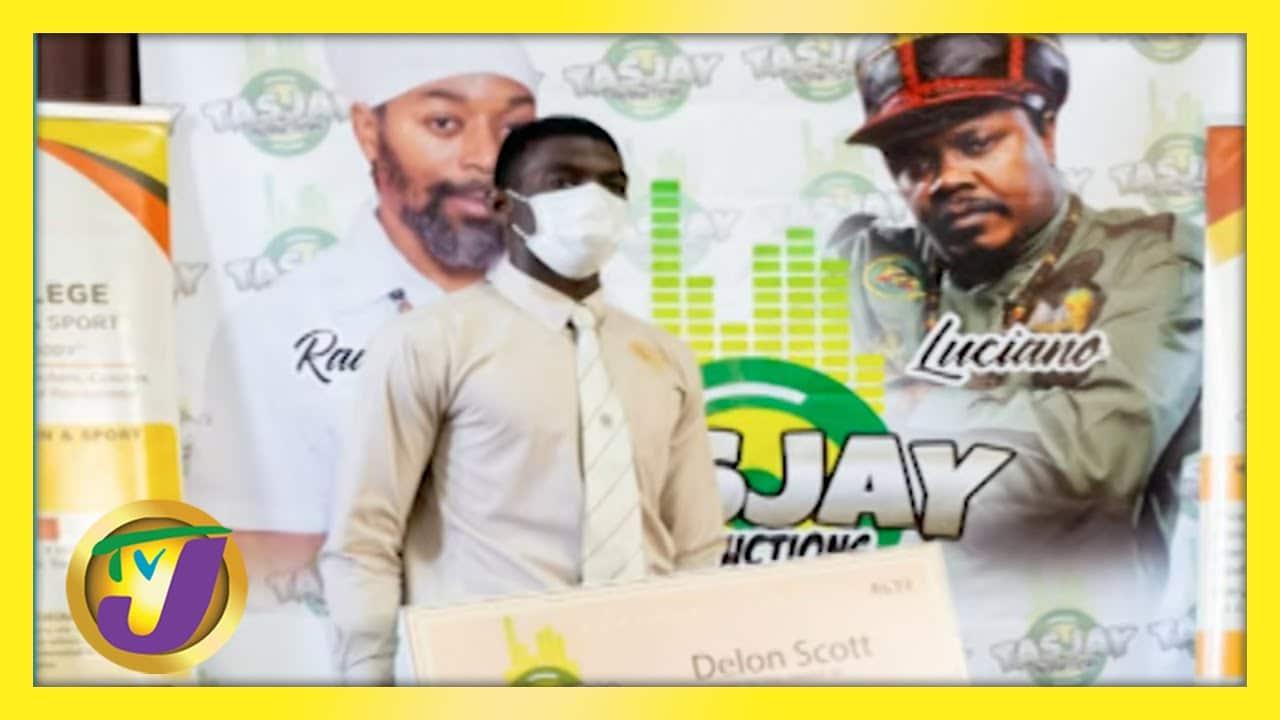 Record Label Creating Scholarship Opportunities | TVJ Smile Jamaica 1