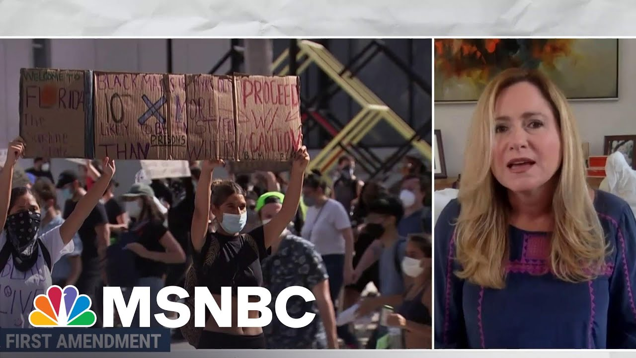 Republican States Are Clamping Down On Your Right to Protest   MSNBC 1