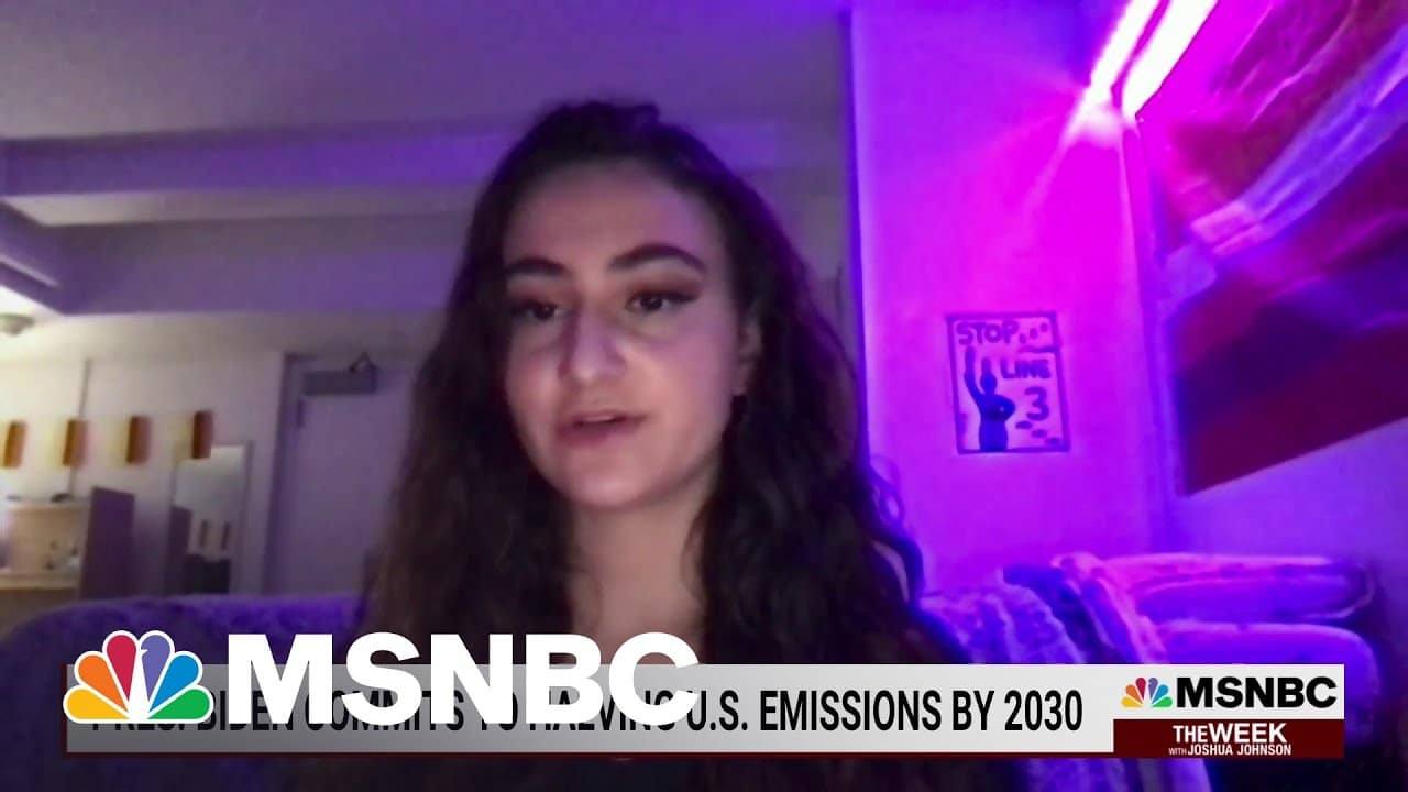 Young Activist On The Fight Against Climate Change   MSNBC 1