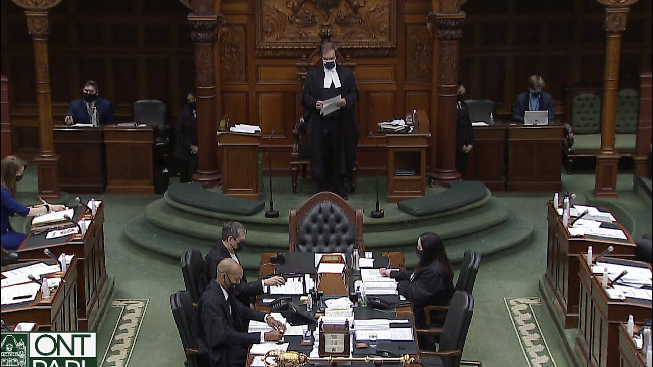Ontario Legislature holds moment of silence for Emily Viegas   13-year-old girl dies of COVID-19 1