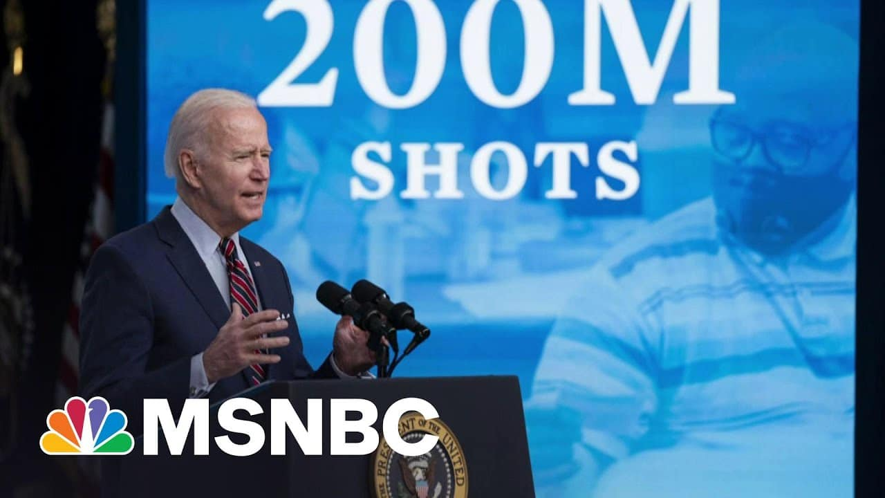 Biden's Approval Remains Strong At The 100-Day Mark | Morning Joe | MSNBC 1