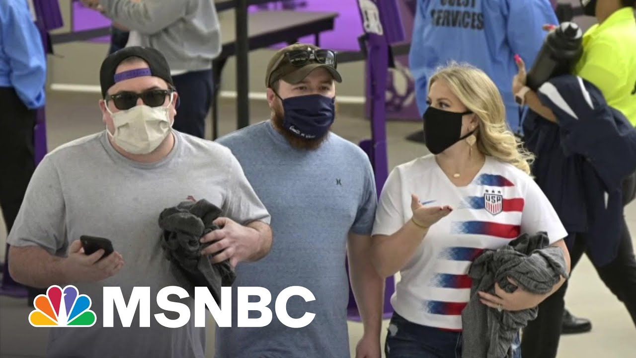 Biden Expected To Announce Updated Guidance On Wearing Masks Outdoors   Hallie Jackson   MSNBC 1