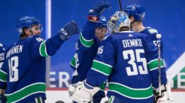 Vancouver Canucks dealing with a serious outbreak of COVID-19 raising questions about NHL season 9