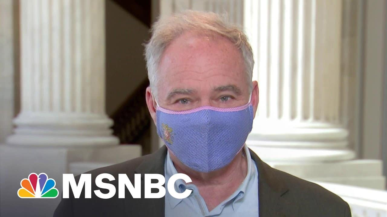 Sen. Tim Kaine On DOJ Investigating Louisville Police Department | MSNBC 9