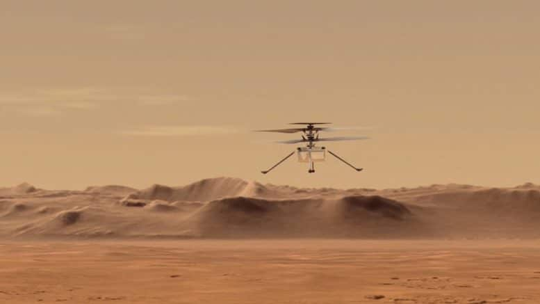 NASA's Ingenuity helicopter set to make history on Mars 1