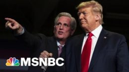 'Dangerous' Trumplicans: GOP Leader Defends Trump Out Of Fear | The Beat With Ari Melber | MSNBC 3