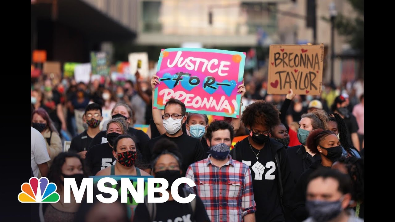 'Thank God:' Civil Rights Lawyer Reacts To Probe Into Louisville Police Practices   All In   MSNBC 1