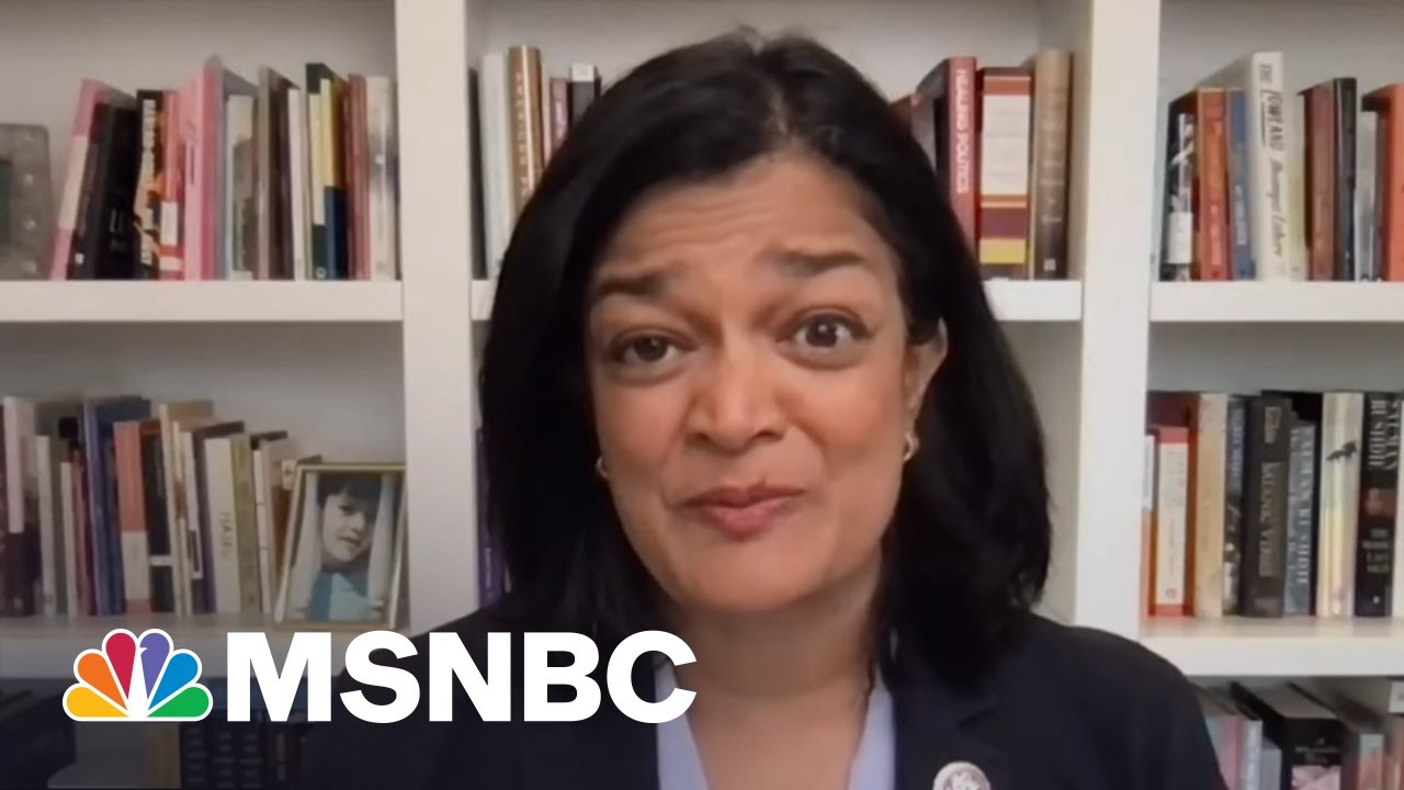 Rep. Jayapal Describes Her Parents Getting Covid In India Amid Surge   All In   MSNBC 5