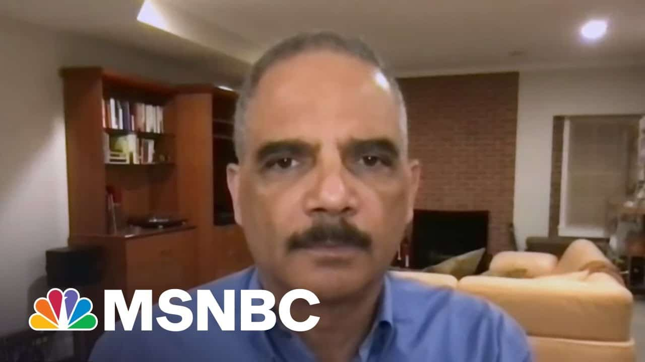 'Acquisition And Retention Of Illegitimate Power': AG Holder On GOP Gerrymandering | All In | MSNBC 1
