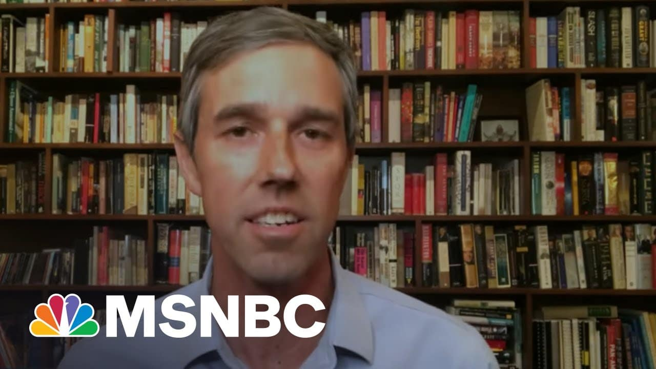 Beto O'Rourke: 'The Best Antidote To Despair Is Action'   The Last Word   MSNBC 6