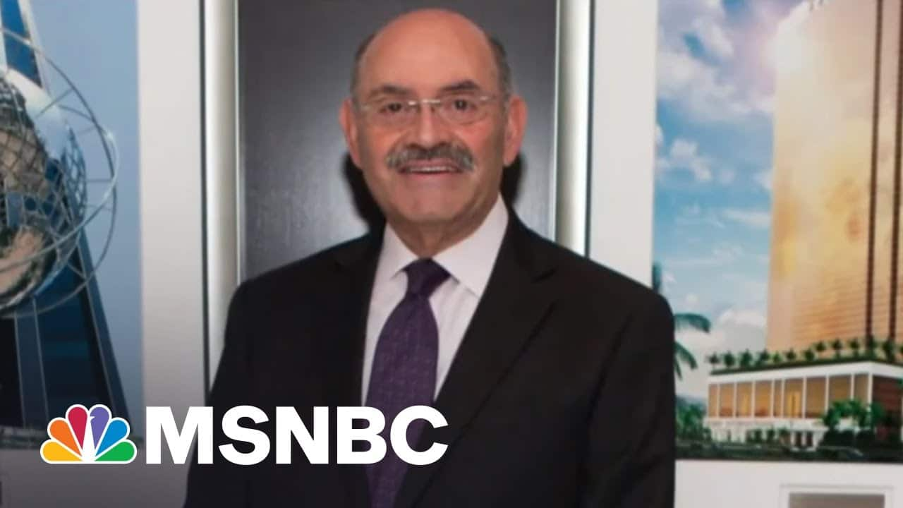 Trump CFO Weisselberg In 2015: I leave 'Legal Side' Of Money Flow To Others | The Last Word | MSNBC 1
