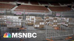 Company Hired For AZ Republican Ballot Audit Stunt Abandons Pretense Of Transparency | Rachel Maddow 9