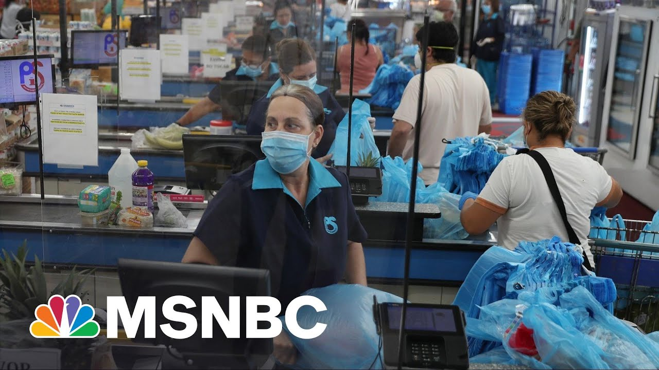 Draft Of A New Federal OSHA Rule On Masks In The Workplace Delivered To WH | Rachel Maddow | MSNBC 5