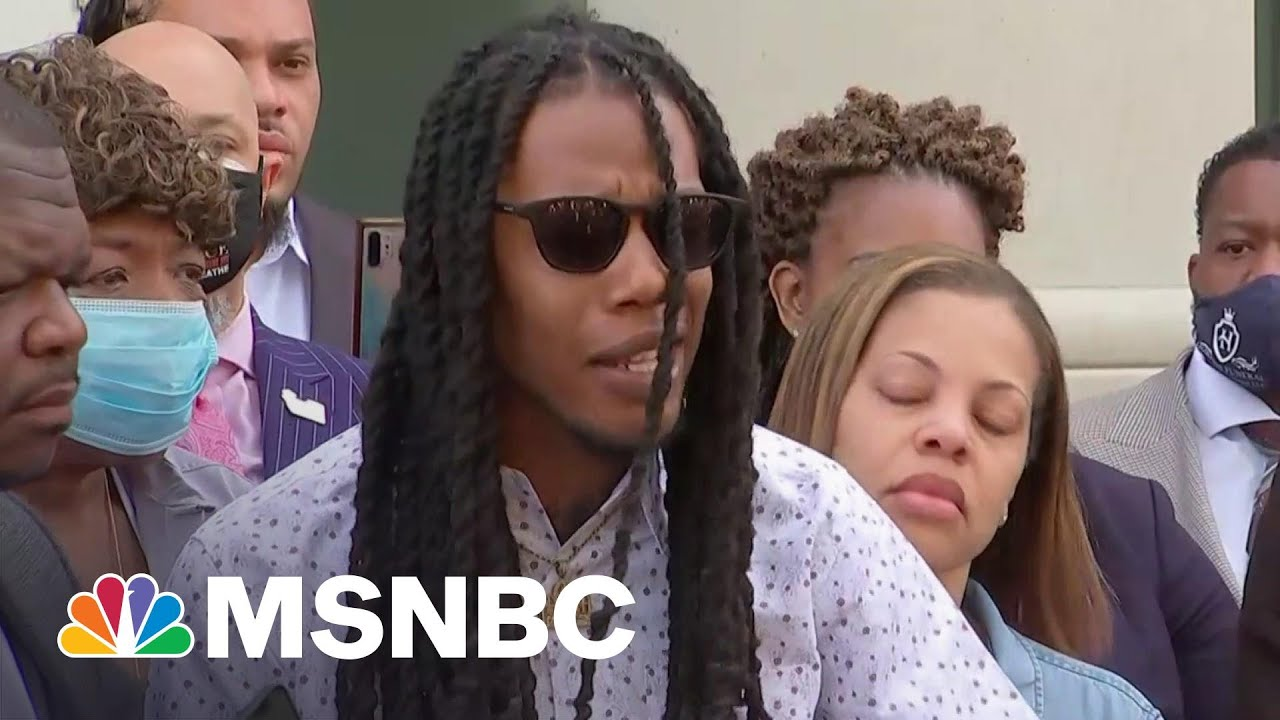 Andrew Brown Jr.'s Son Says His Father Was 'Executed'   MSNBC 1