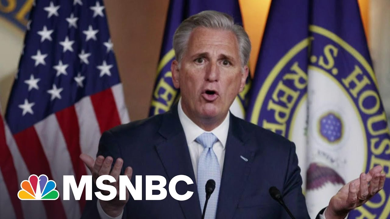 Rep. McCarthy Is 'Still Playing Defense' Over Trump: NYT | Morning Joe | MSNBC 9