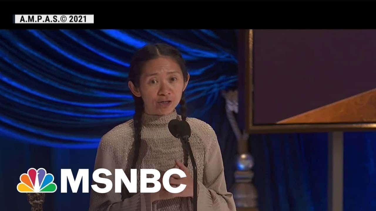 China Censors Chloé Zhao's Historic Oscars Win   MSNBC 1