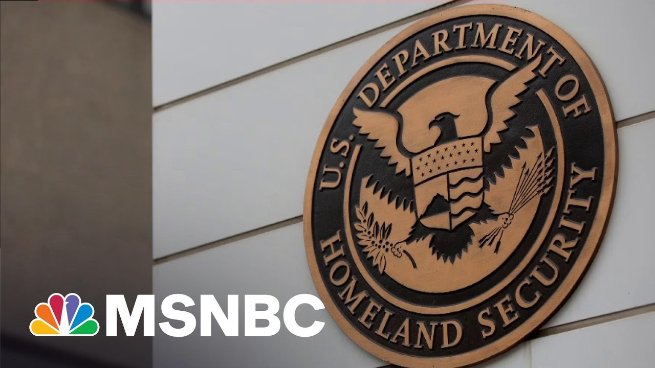 DHS Opens Investigation Into 'Domestic Violent Extremism' Within Its Agency   All In   MSNBC 1