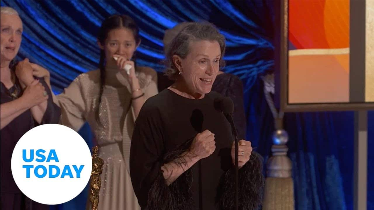 Oscars 2021: Chadwick Boseman snubbed, Frances McDormand howls 2