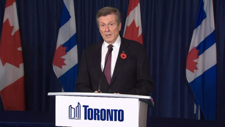 'We are not an island:' Toronto mayor says of Ontario-wide lockdown 1