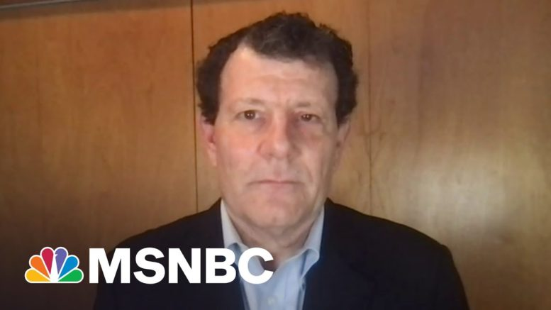 Nick Kristof: Infrastructure Is 'Not An Expense, But An Investment' | The Last Word | MSNBC 1