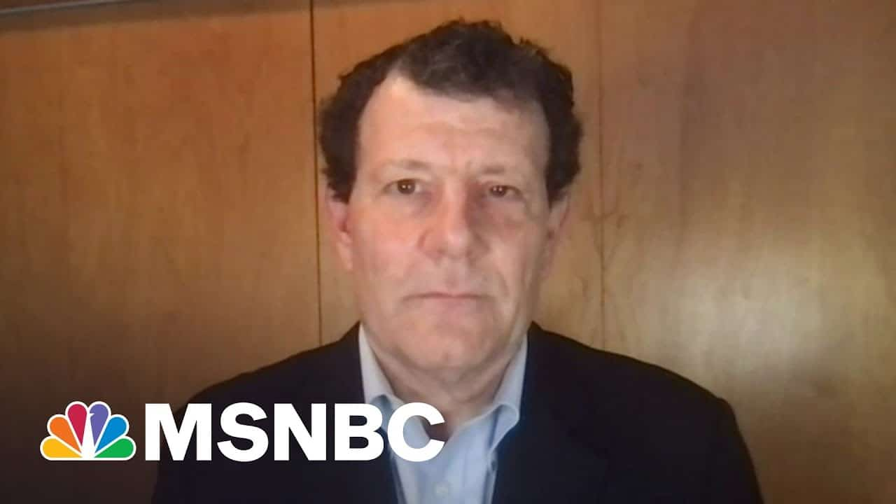 Nick Kristof: Infrastructure Is 'Not An Expense, But An Investment' | The Last Word | MSNBC 4