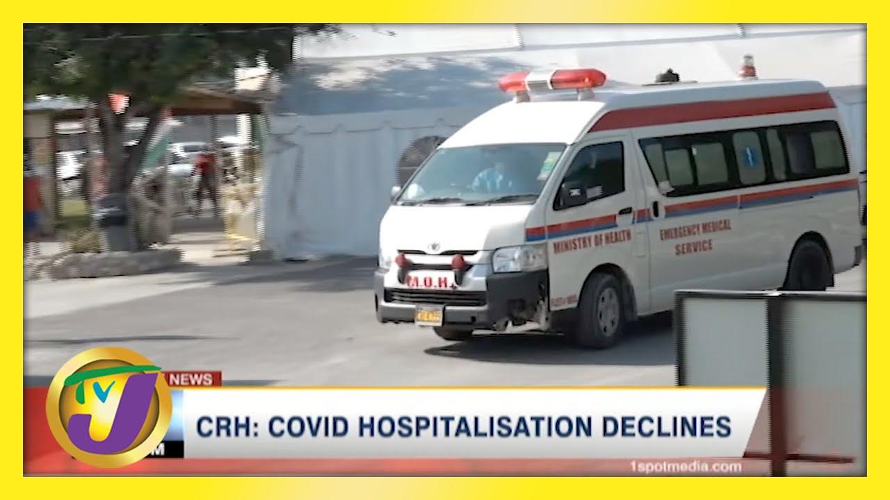 Covid Hospitalization Declines in Western Jamaica | TVJ News - April 23 2021 1