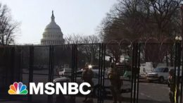 Attack Likely To Reignite Debate Over Capitol Security | The 11th Hour | MSNBC 6