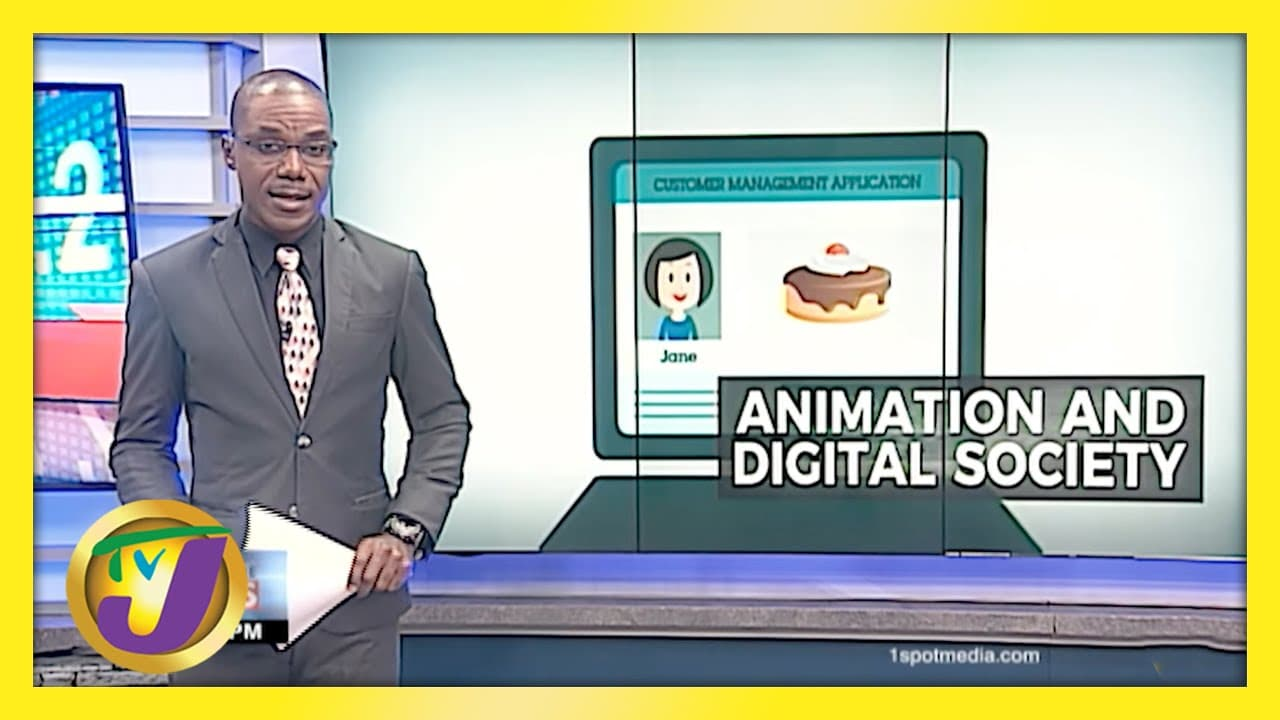 Animation a Tool to Help Jamaica's Digital Transformation | TVJ Business Day - April 26 2021 1