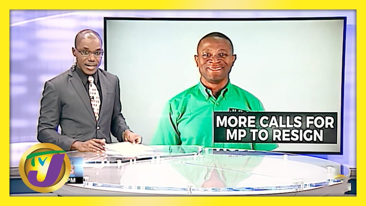 More Calls for George Wright to Resign   TVJ News - April 26 2021 1