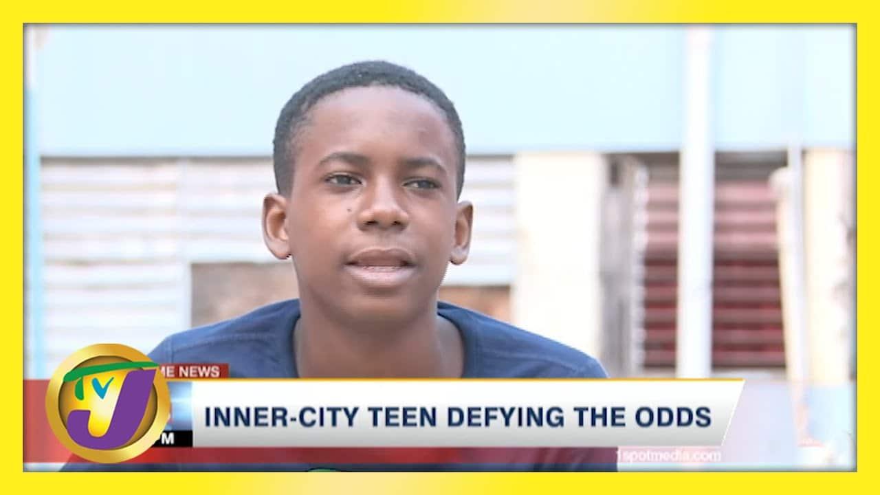 Jamaican Inner-city Teen Defying the Odds   TVJ News - April 26 2021 1