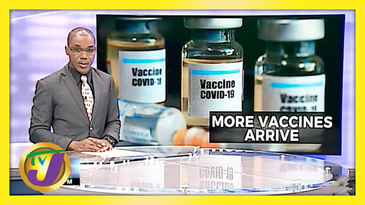 Jamaica Receives Another 55,200 Doses of Vaccines   TVJ News - April 26 2021 1