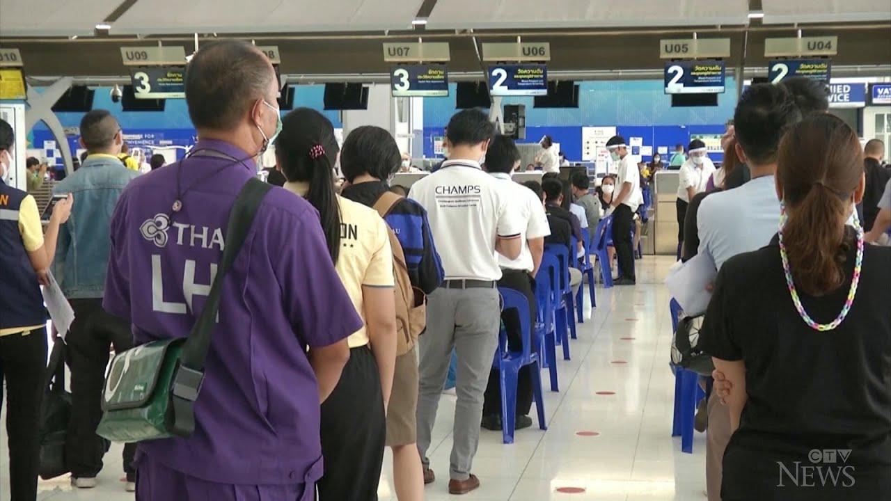 Bangkok airport turned into vaccination hub 1