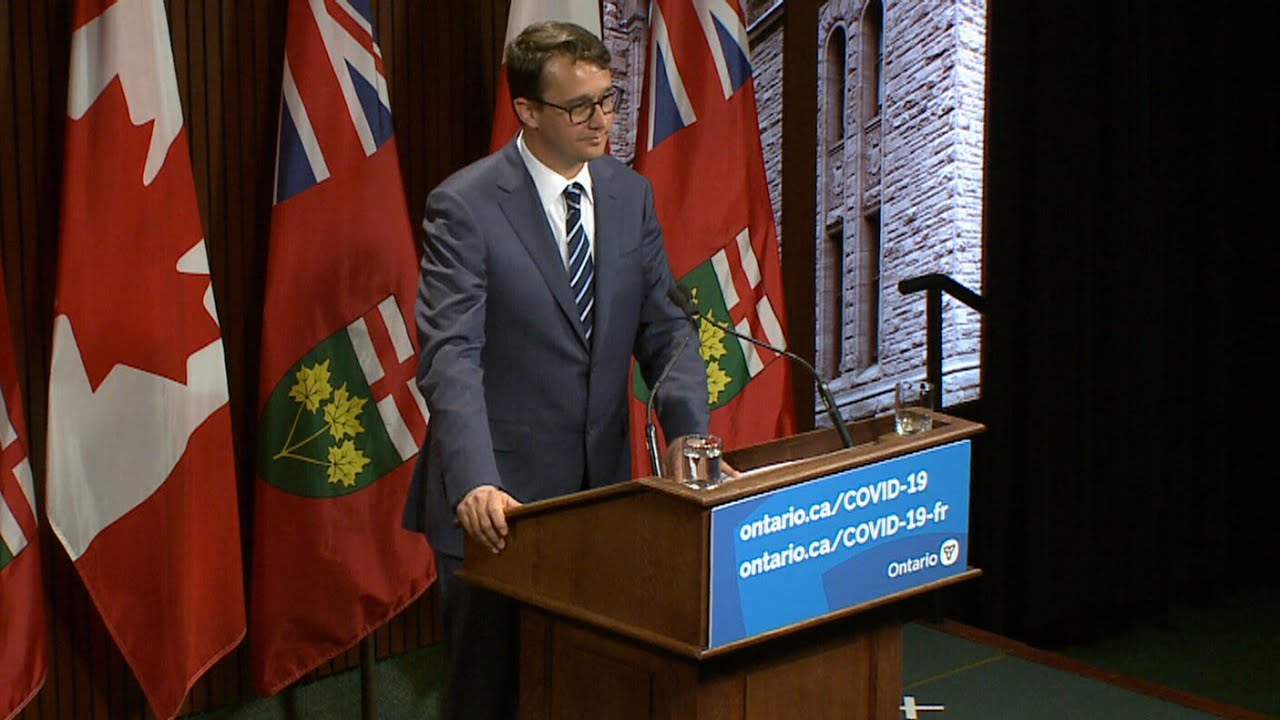 Ford government faces questions on sick leave program | COVID-19 in Ontario 5