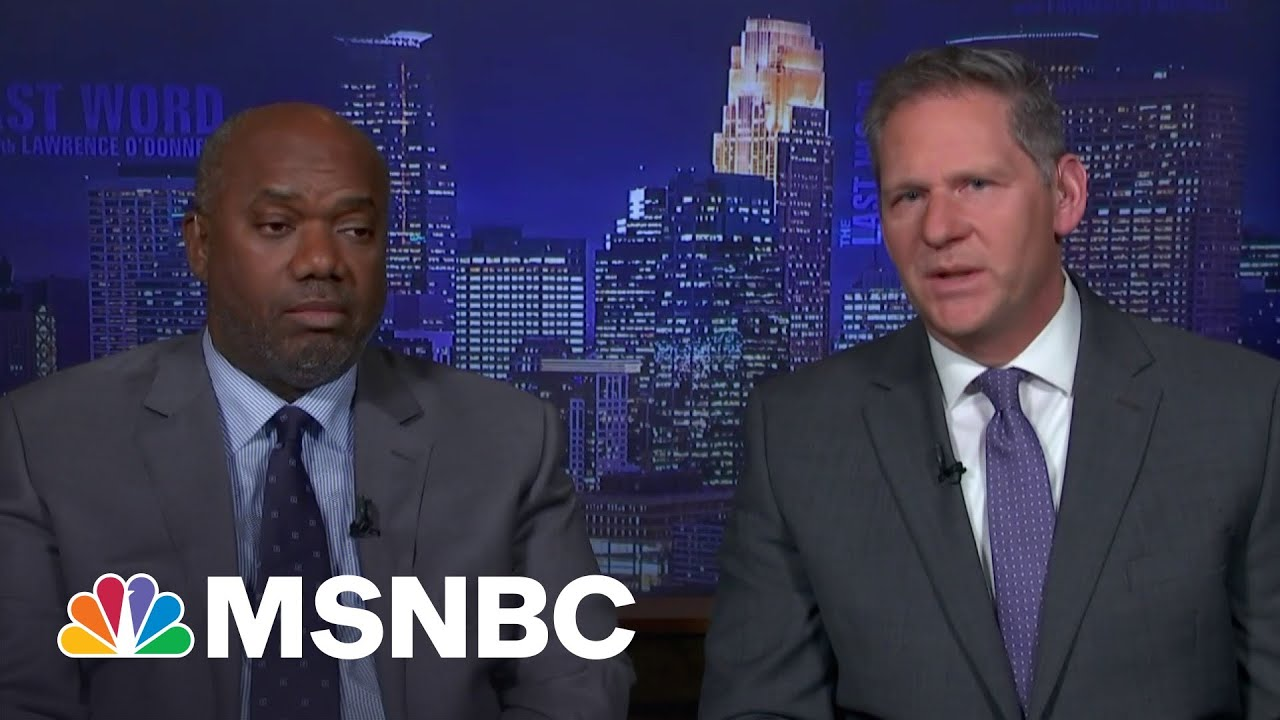 Prosecutors Speak To Lawrence After Chauvin Murder Conviction | The Last Word | MSNBC 9