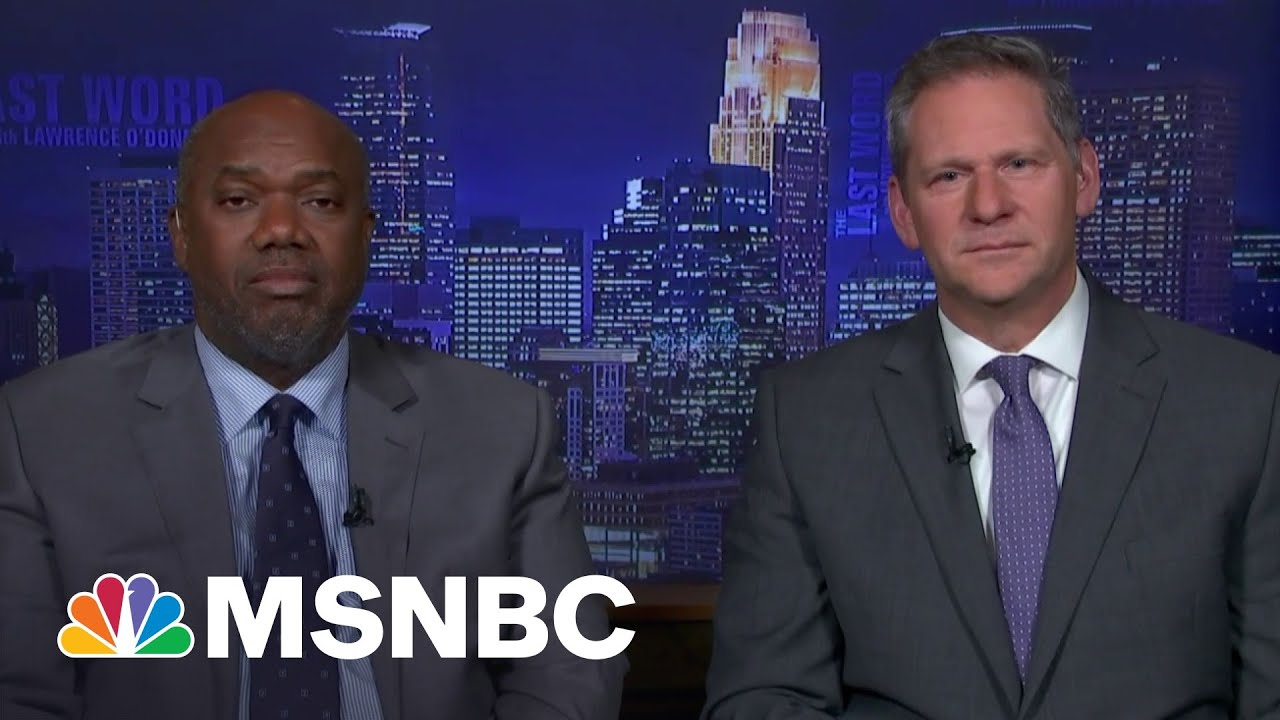 Attorneys Say Joining Chauvin Prosecution Was A 'Moral Moment' | The Last Word | MSNBC 8