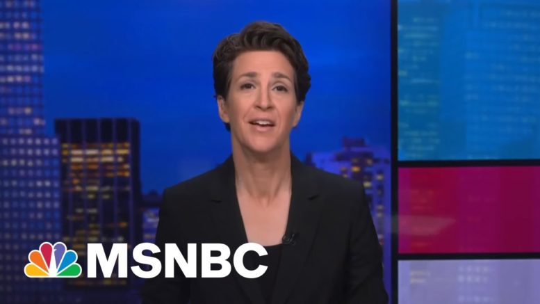 One Unruly Squirrel On A Friday Night Bender And... | Rachel Maddow | MSNBC 1