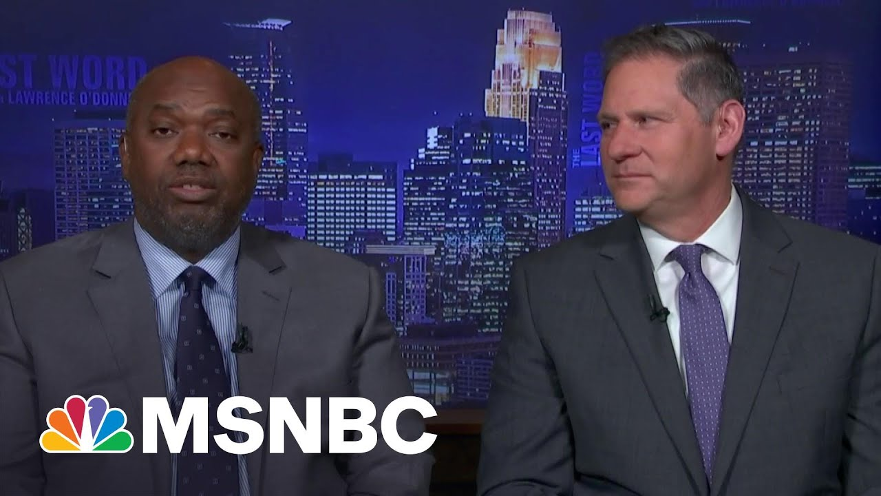 Chauvin Trial Prosecutors React To Guilty Verdict | The Last Word | MSNBC 7
